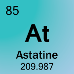 Element cell for 85-Astatine
