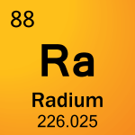 Element cell for 88-Radium
