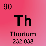 Element cell for 90-Thorium