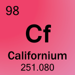 Element cell for 98-Californium