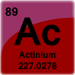 Element cell for Actinium