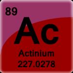 Element cell for Actinium
