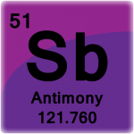 Element cell for Antimony