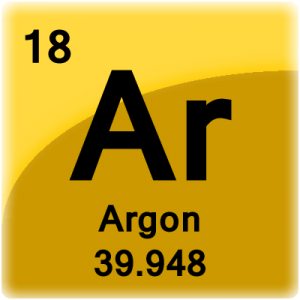 Element cell for Argon