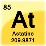 Element cell for Astatine