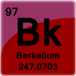 Element cell for Berkelium