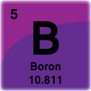 Element cell for Boron