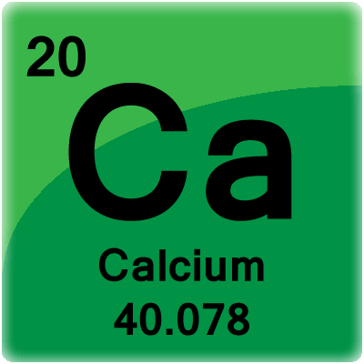 Calcium facts atomic number 20 and element symbol ca element cell for calcium calcium periodic table cell urtaz Gallery