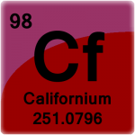 Element cell for Californium