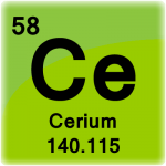 Element cell for Cerium