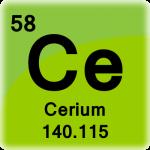 Element cell for Cerium