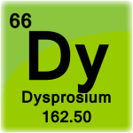 Element cell for Dysprosium
