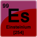 Element cell for Einsteinium