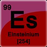 Element cell for Einsteinium