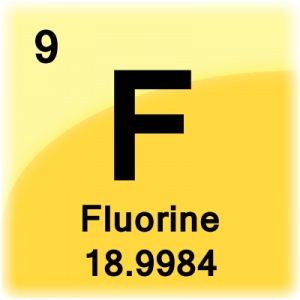 Fluorine facts element cell for fluorine fluorine periodic table urtaz Gallery