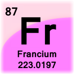 Element cell for Francium