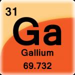 Element cell for Gallium
