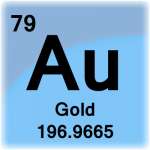Element cell for Gold