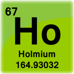 Element cell for Holmium