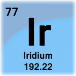 Element cell for Iridium