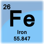 Element cell for Iron