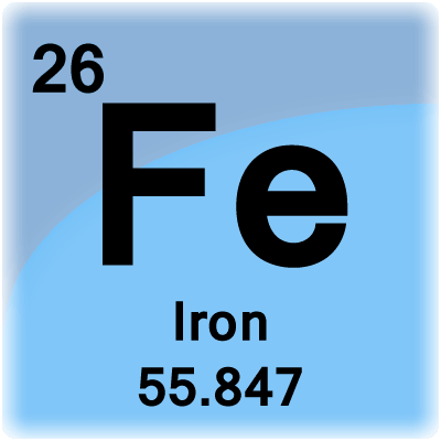 Iron_tile on Periodic Table Of Elements