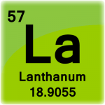 Element cell for Lanthanum