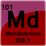 Element cell for Mendelevium