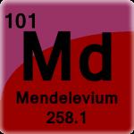 Element cell for Mendelevium