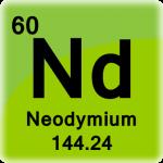 Neodymium Element Cell