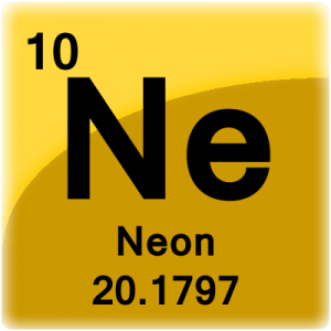 Neon facts element cell for neon neon periodic table urtaz Image collections
