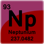 Element cell for Neptunium