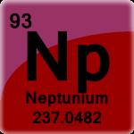 Element cell for Neptunium