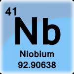 Element cell for Niobium