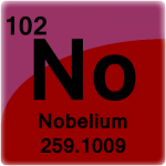 Element cell for Nobelium