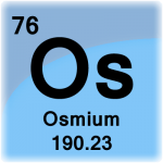 Element cell for Osmium