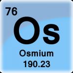 Element cell for Osmium