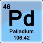 Element cell for Palladium
