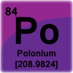 Element cell for Polonium