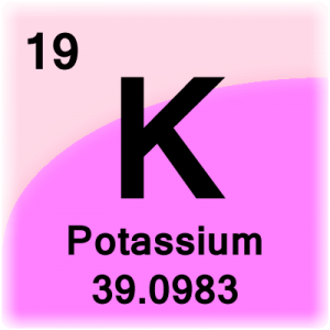 Element cell for Potassium