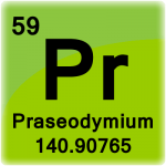 Element cell for Praseodymium
