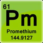 Element cell for Promethium