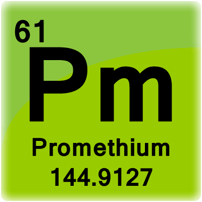 the element promethium Promethium - the chemical elements of the periodic table - images and facts.