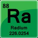 Element cell for Radium