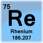 Element cell for Rhenium
