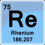 Element cell for Rhenium