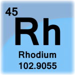 Element cell for Rhodium