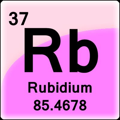 Rubidium_tile on Printable Periodic Table