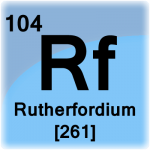 Element cell for Rutherfordium
