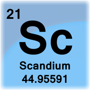 Element cell for Scandium